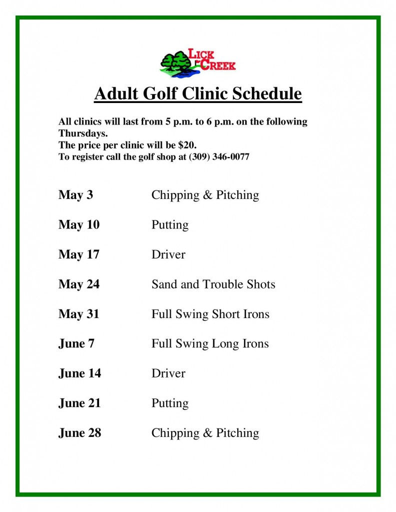 2018 Adult Men s and Ladies Clinic Schedule (2)-page-001